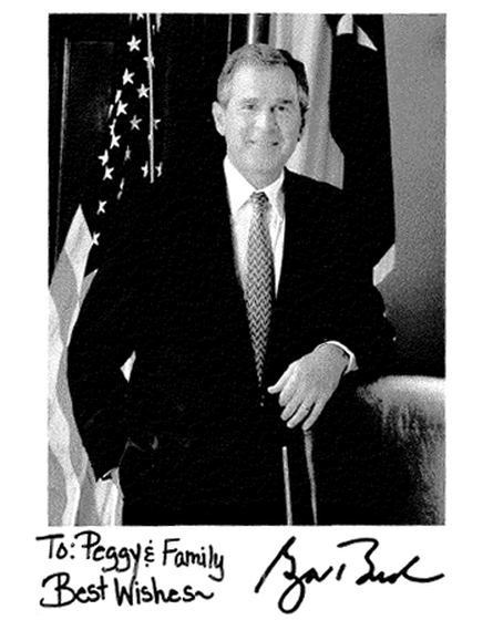 Photo of G. W. Bush